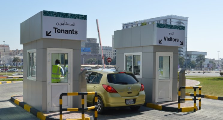 New Car Park Exit booths now Open