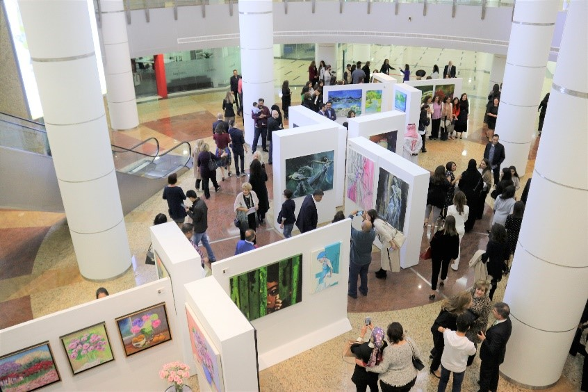 Women on the Rise Exhibition