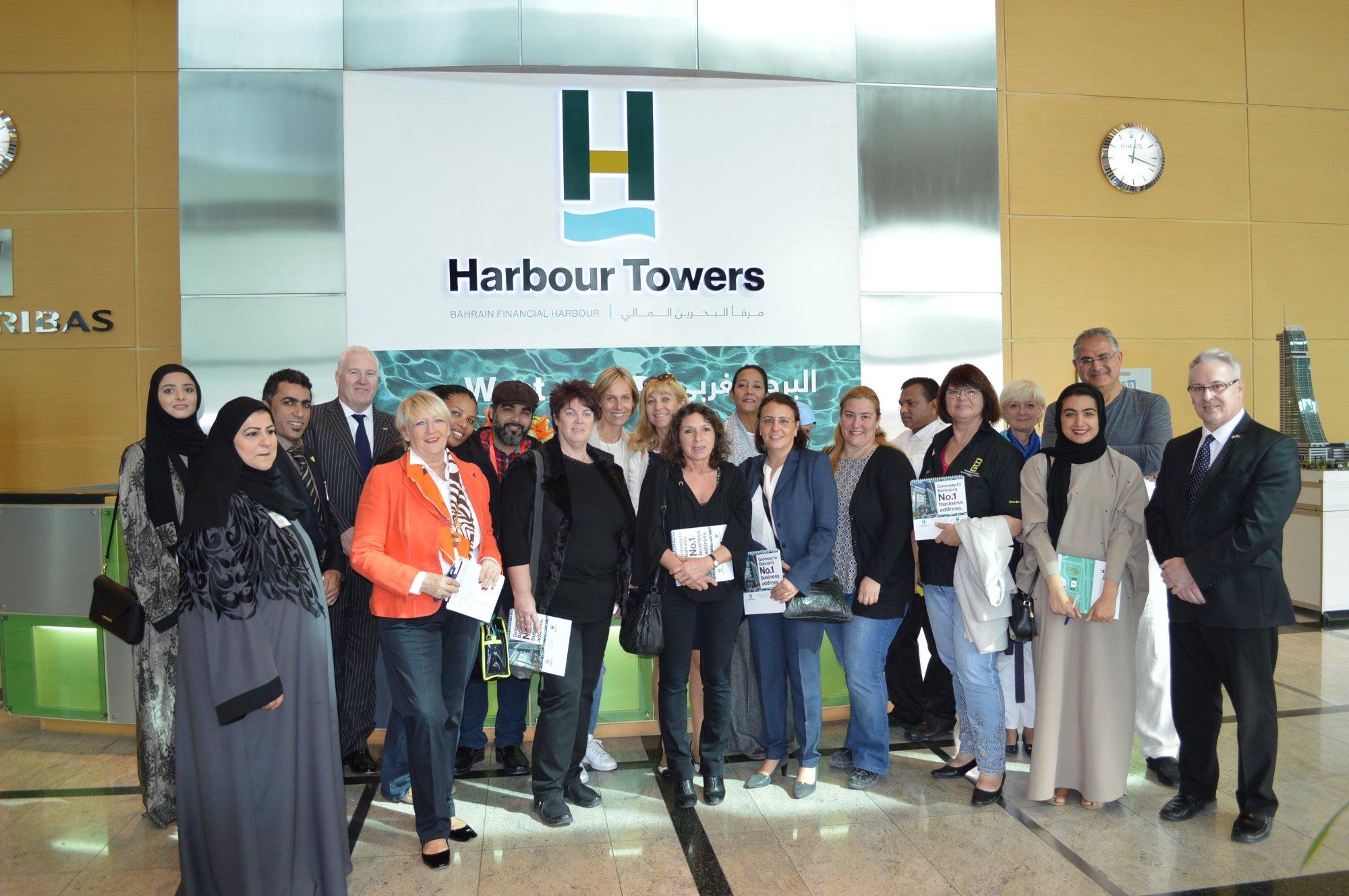 Tourism Professionals Visit The Harbour Towers